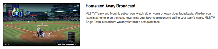 MLB.TV Streaming on FairlawnGig
